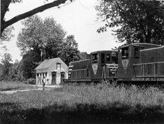 W&OD Dunn Loring station.