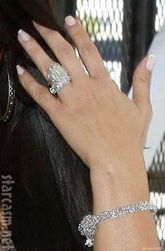Kim Kardashian's wedding ring and engagement ring