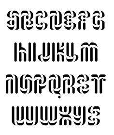 roetsj font by paul bokslag