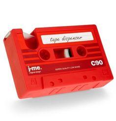 Rewind Desk Tidy Cassette Tape Dispenser Gadget Büro Lagerung - Rot in Handys & Kommunikation, Handy- & PDA-Zubehör, Taschen & Schutzhüllen | eBay