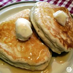 """Coconut Banana Pancakes 