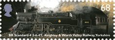 BR Standard Class, Yorkshire #SpecialStamp from 2004 'Classic Locomotives'