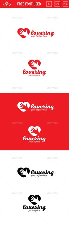 Love Ring - Logo Design Template Vector #logotype Download it here: http://graphicriver.net/item/love-ring-logo/15497368?s_rank=1192?ref=nesto
