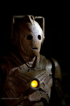 Wooden Cyberman - The Time of the Doctor