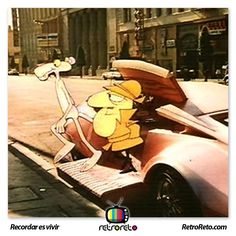 ¿Recuerdan a la Pantera Rosa y el Detective? RetroReto.com