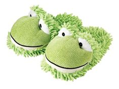 Fuzzy Friends Women's Frog Slipper