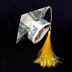 Money Origami Tutorial, Diy Origami, Origami Jewelry, Oragami Money, Easy Money Origami, Creative Money Gifts, Money Gifting, White Trash Party, Dollar Bill Origami