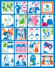 The Helsinki Regional Transport Authority (HSL) was recently born as a coalition of Helsinki City Transport and Helsinki Metropolitan Area Council, the two main operators of the capital city region's local public transport. Kokoro & Moi is responsible for Visit Helsinki, Poster Layout, Information Graphics, Creative Illustration, Kokoro, Color Swatches, Urban Art, Icon Design, Regional