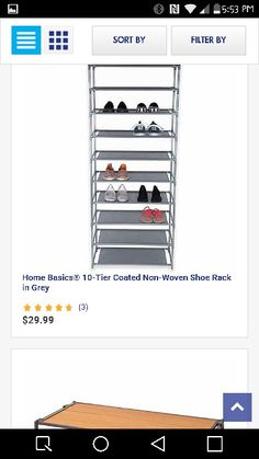 Would love to put this in my closet for my shoes... Cat would probably mess it all up!
