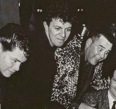 "hillbillyholly: "" Ritchie Valens, Dion and the Big Bopper """