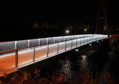 LED Lighting For Urban Architecture Led Fixtures, Urban Architecture, Exterior Lighting, Sidewalk, Stairs, Public Spaces, Park, Bridges, San Francisco