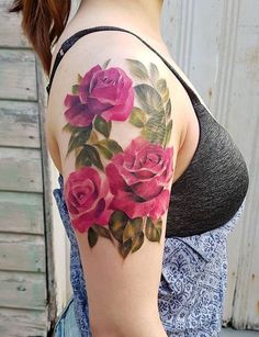 Jemka tattoo rose Rose Tattoos, Flower Tattoos, Tatoos, Mehendi, Kiwi, Tattoo Artists, Body Art, Tattoo Ideas, My Style