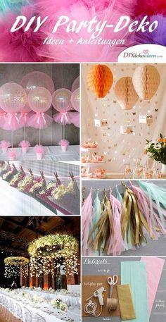 DIY Party Deko Ideen zum Selbermachen