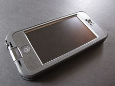 Lifeproof Nüüd case for iPhone 5 - unique environment proof case with no screen protection