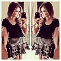 Look todo! @mariquinhastore ▪️▫️ | #ootd #selfie #blogtrendalert