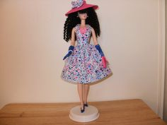 OOAK dress for Silkstone Barbie for sale in my Etsy store.