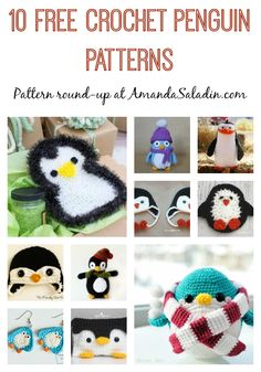 10 Free Crochet Penguin Patterns