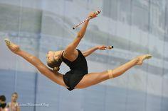 Aleksandra Soldatova. Rusia, gimnasta artística.