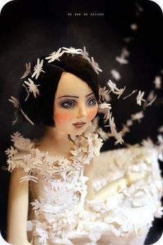 Art Doll~Brighid by du_buh_du_designs, via Flickr