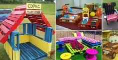 Voici 20 merveilleuses idées de meubles pour enfants à bricoler avec des palettes de bois! - Bricolages - Trucs et Bricolages