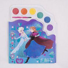 Caiet de colorat cu acuarele Frozen FZ31001 Frozen