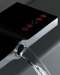 Example image of Vado Identity Digital Basin Tap With Concealed Control Unit (Deck Mounted).