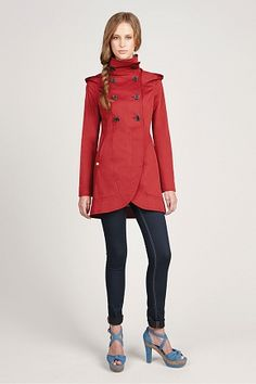 Bergina trench from Soia & Kyo // This is definitely where Kalinda from The Good Wife shops.