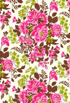 joel dewberry design   pink floral pattern