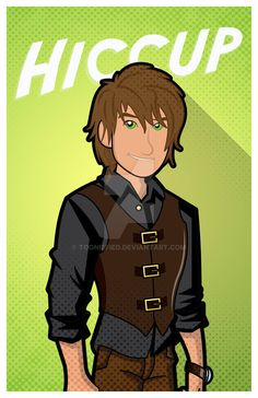 d2d56151a A requested piece. Hiccup re-imagination for the modern times as a Rocker.  I edited the body and clothing. Hiccup, The Musician