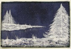 New Postcard and Update - Field Trips in Fiber - Adventures in quilting, hand dyed fabric and fiber art.