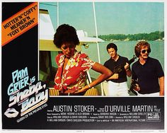 Lobby Card From the film Sheba Baby Pam Grier, Foxy Brown, Martin S, March, My Love, Lady, Board, Music, Movie Posters