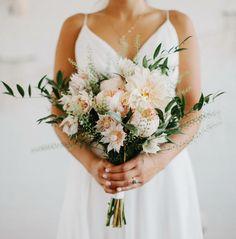 Love this blush bouquet