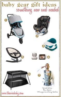 Baby Gear Gift Ideas 2013 - including the new @Matty Chuah Honest Company & Baby Jogger collaboration for the City Mini GT!