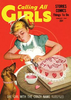 Calling all Girls Feb 1960  10x14 Giclée by cheeseboyproducts, $25.00