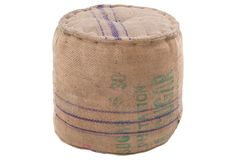 Jute Pouf >> Love this one! $ 99