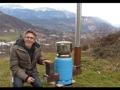 Ep16: Plan poele dragon multicombustible sans soudure /  wood or pellets rocket stove drowing - YouTube