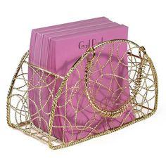 Wire Handbag with Pads