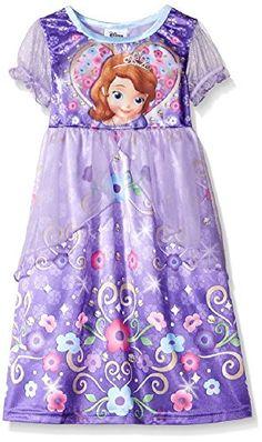 Disney Princess Girls Fantasy Nightgo…