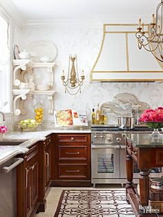 ThingsWeLove:KitchenBrass - Design Chic