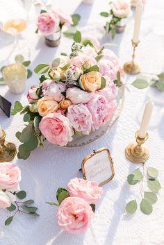 #tischdekoration Märchenhafte Dornröschen Schlosshochzeit im Vintage Stil   Hochzeitsblog - The Little Wedding Corner