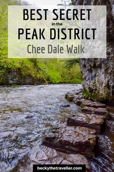 Chee Dale Stepping Stones Walk in the Peak District - Becky the Traveller Places To Visit Uk, Beautiful Places To Visit, Peak District England, Walking Routes, Best Hikes, Day Hike, Lake District, Victoria, Landscape Photography