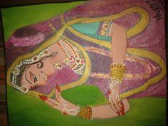 Banithani oil painting
