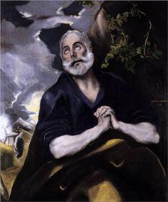 The Tears of Saint Peter by El Greco, Spain.