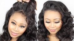 How To Make A Frontal Wig Tutorial || Start To Finish || No Glue! No sew...