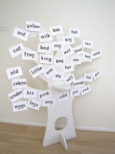 Word tree- could be fun for the big book center next year, or maybe a center in itself?
