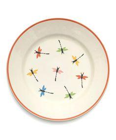 Another great find on #zulily! Dragonflies Round Platter by Woodard & Charles #zulilyfinds