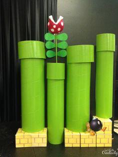 DIY Mario Warp Tunnels