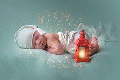 fairytale, sandmaenchen, lantern, boy, newborn