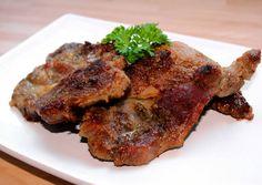 Sült tarja | Alajuli receptje - Cookpad receptek Hungarian Recipes, Hungarian Food, Steak, Bacon, Pork, Cooking, Recipes, Kale Stir Fry, Kitchen