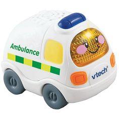 "Vtech - Go Go Smartwheels - Ambulance - English Edition - VTech - Toys""R""Us"